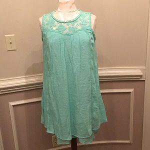New Directions Mint Green Dress